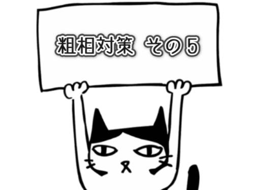 猫の粗相対策5
